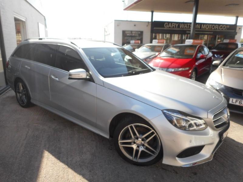 used Mercedes E220 CDI AMG SPORT in glamorgan