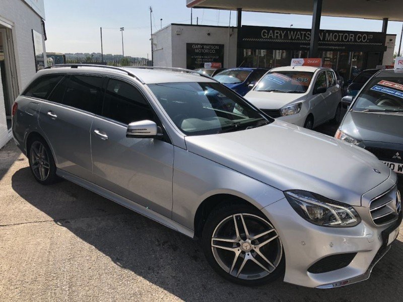 used Mercedes E220 CDI AMG SPORT in glamorgan