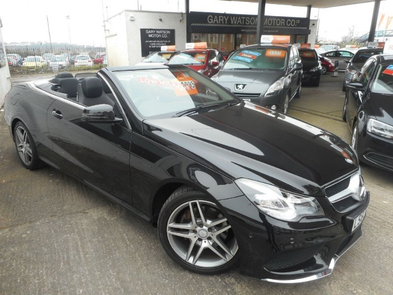 used Mercedes E250 CDI AMG SPORT in glamorgan