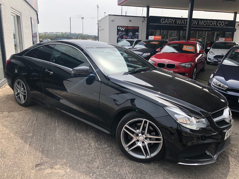 used Mercedes E220 BLUETEC AMG LINE in glamorgan