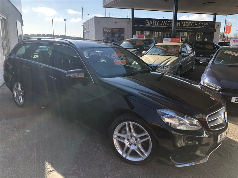 used Mercedes E350 BLUETEC AMG SPORT in glamorgan