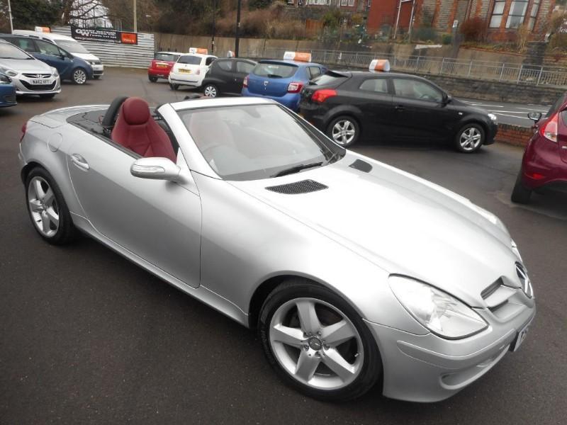 used Mercedes SLK SLK200 KOMPRESSOR in glamorgan