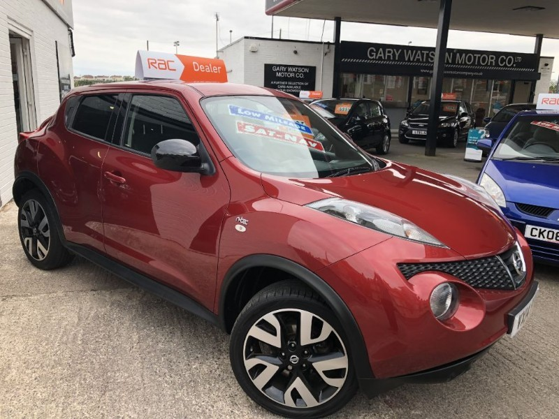 used Nissan Juke N-TEC in glamorgan