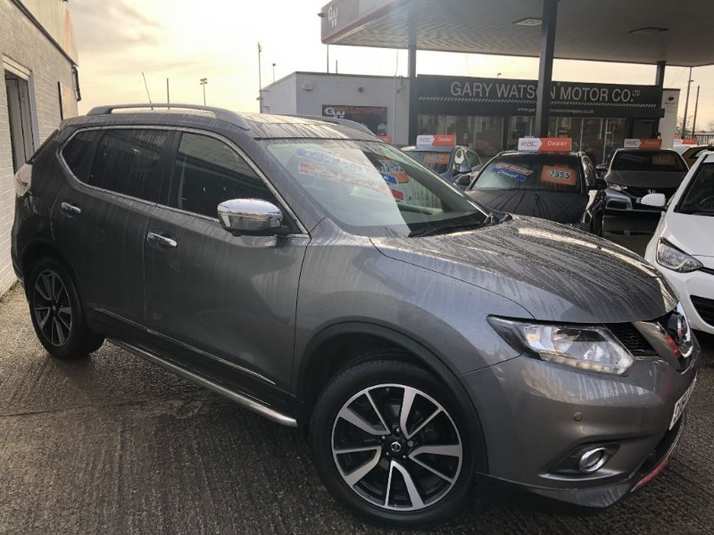used Nissan X-Trail DCI N-TEC in glamorgan