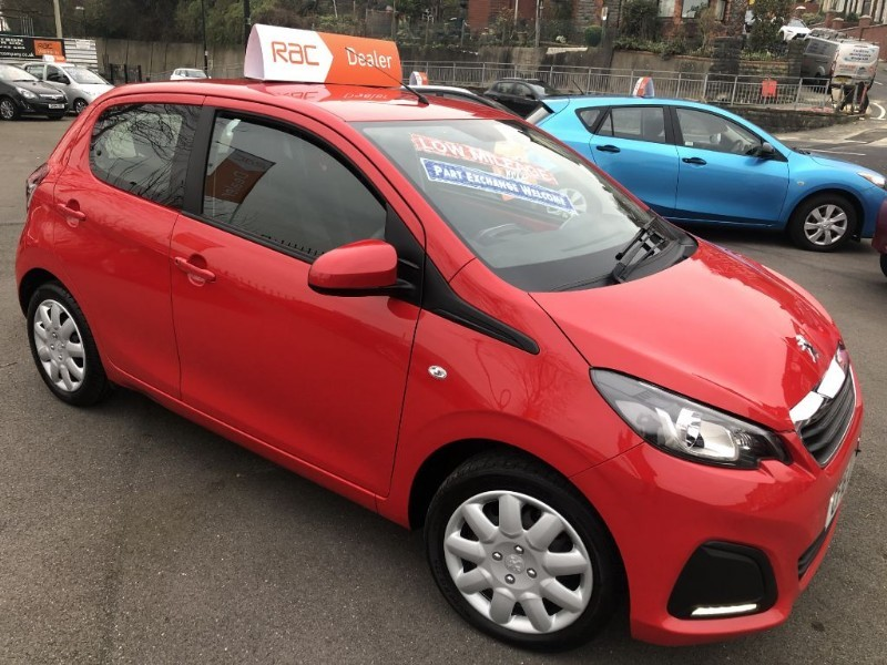 used Peugeot 108 ACTIVE in glamorgan