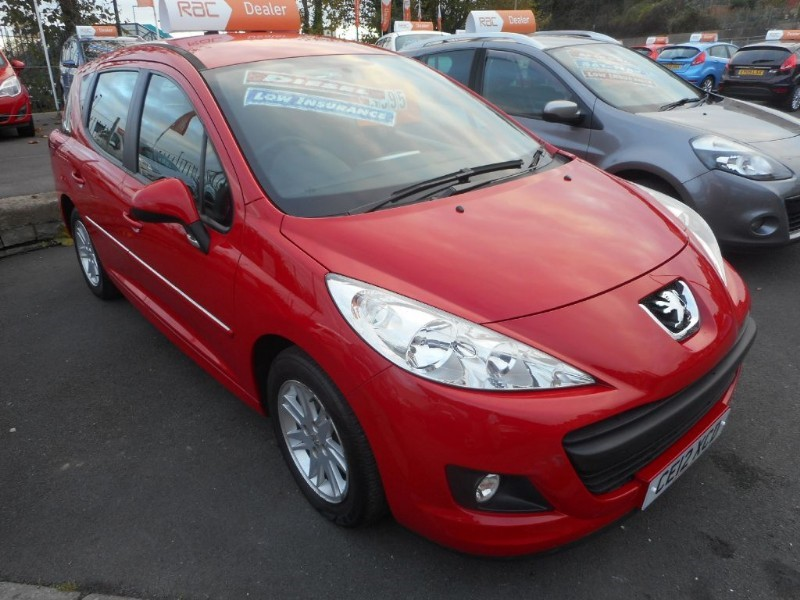 used Peugeot 207 HDI SW ACCESS in glamorgan