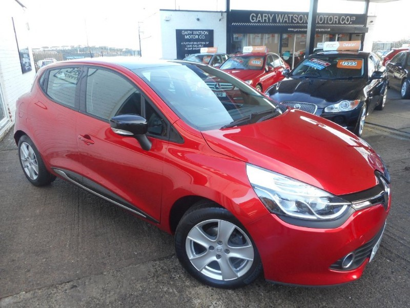 used Renault Clio DYNAMIQUE NAV TCE in glamorgan
