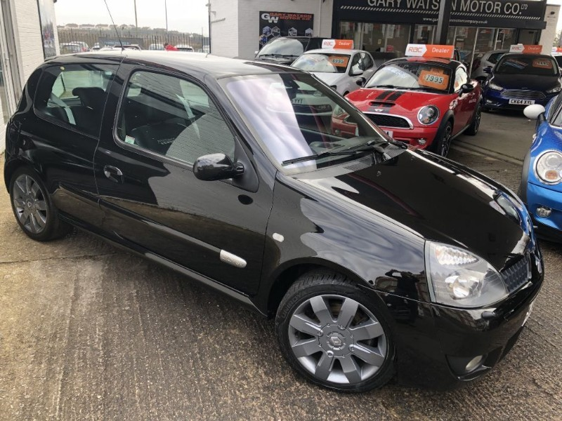 used Renault Clio RENAULTSPORT 182 16V in glamorgan