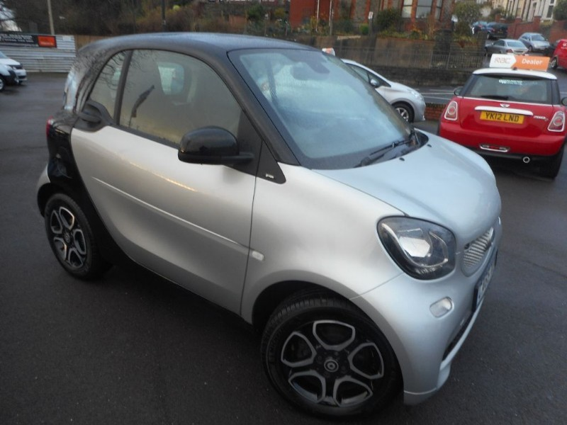 used Smart Car Fortwo Coupe PRIME PREMIUM in glamorgan