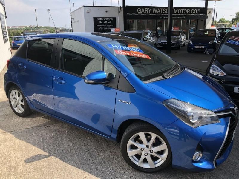 used Toyota Yaris VVT-I SPORT M-DRIVE S in glamorgan