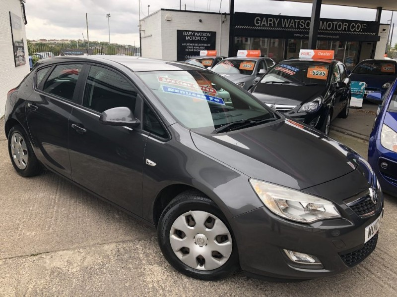 used Vauxhall Astra EXCLUSIV in glamorgan