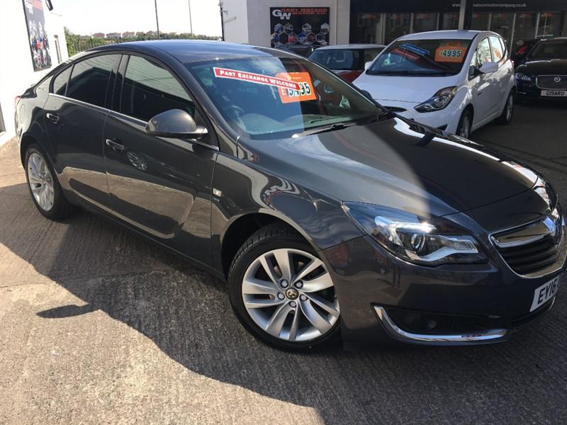 used Vauxhall Insignia SRI NAV in glamorgan