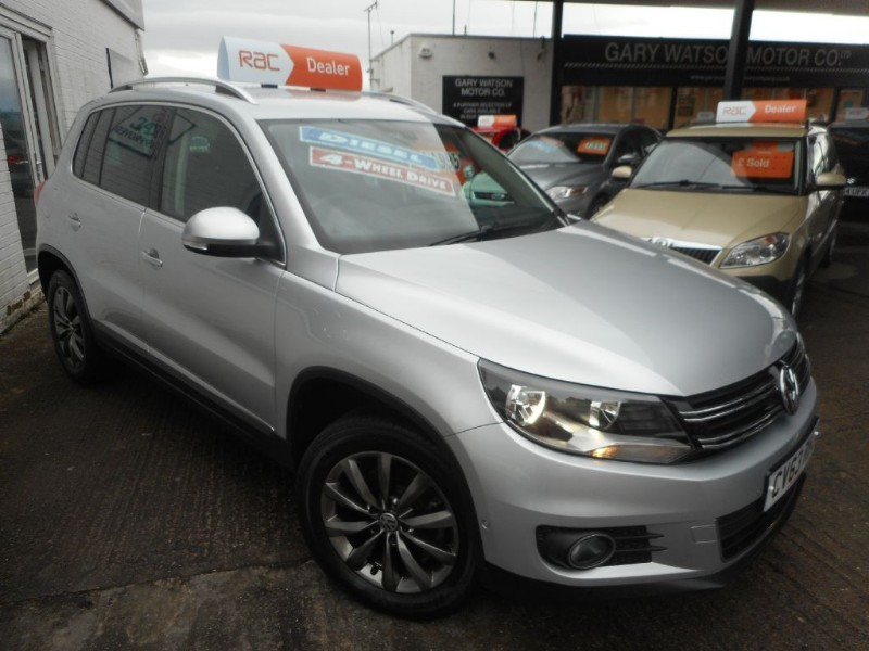 used VW Tiguan MATCH TDI BLUEMOTION TECH 4MOTION DSG in glamorgan