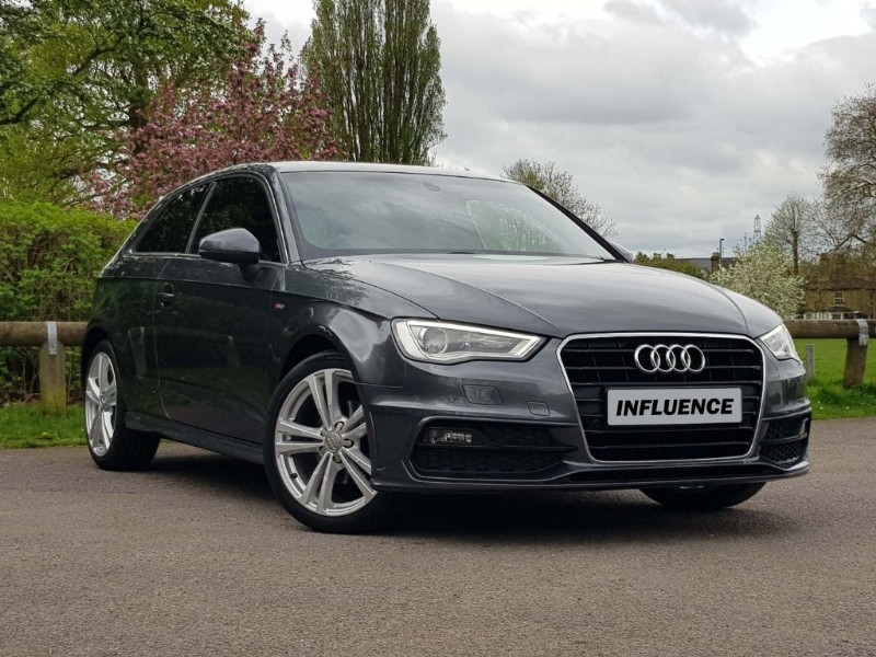 used Audi A3 TFSI S LINE in leatherhead-surrey