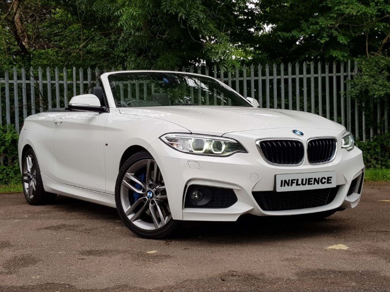 used BMW 220d M SPORT in leatherhead-surrey