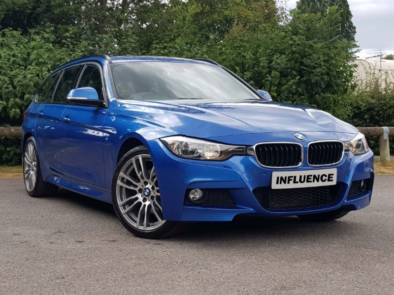 used BMW 330d XDRIVE M SPORT TOURING in leatherhead-surrey