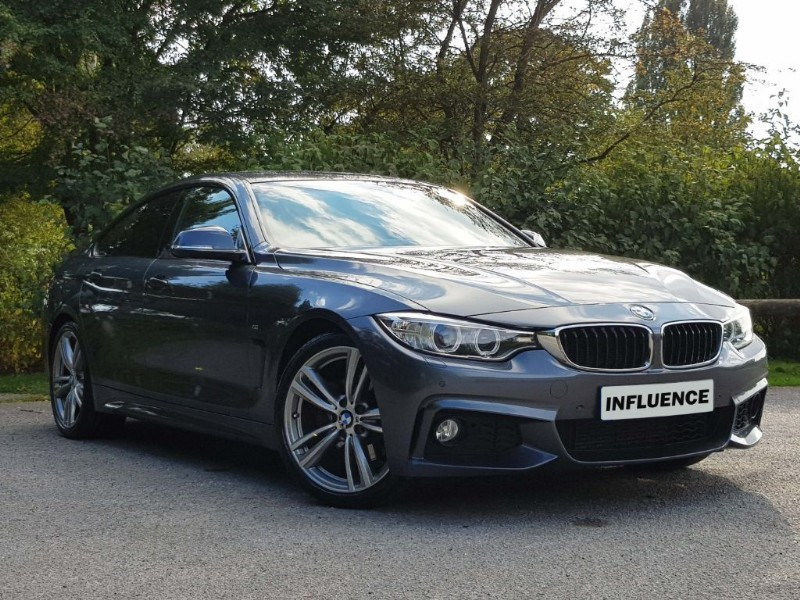 used BMW 430d M SPORT GRAN COUPE in leatherhead-surrey