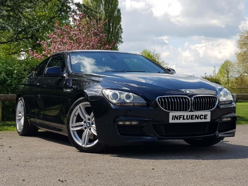 used BMW 640d M SPORT in leatherhead-surrey