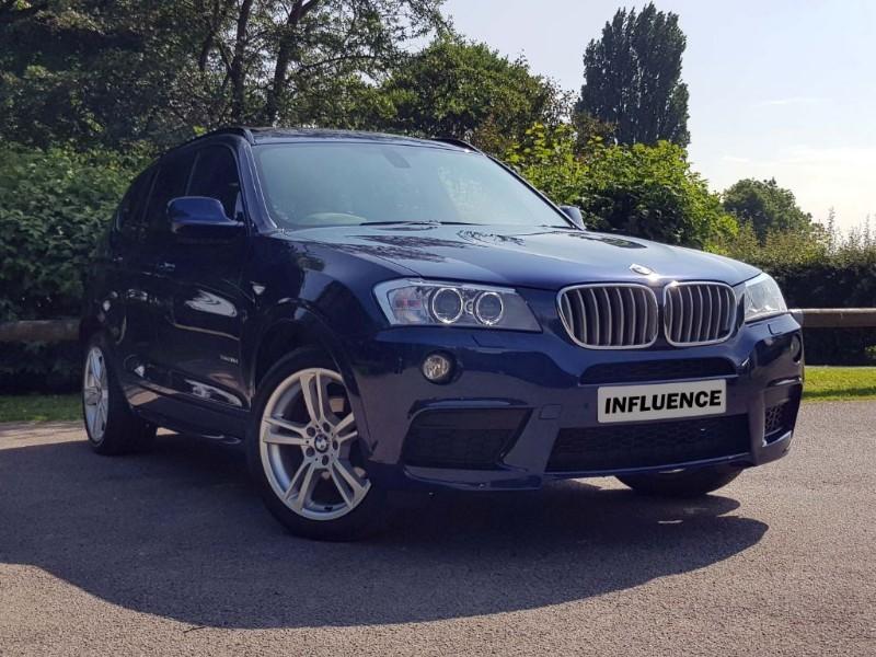 used BMW X3 XDRIVE30D M SPORT in leatherhead-surrey