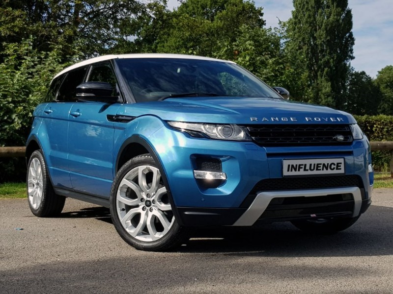 used Land Rover Range Rover Evoque SI4 DYNAMIC in leatherhead-surrey
