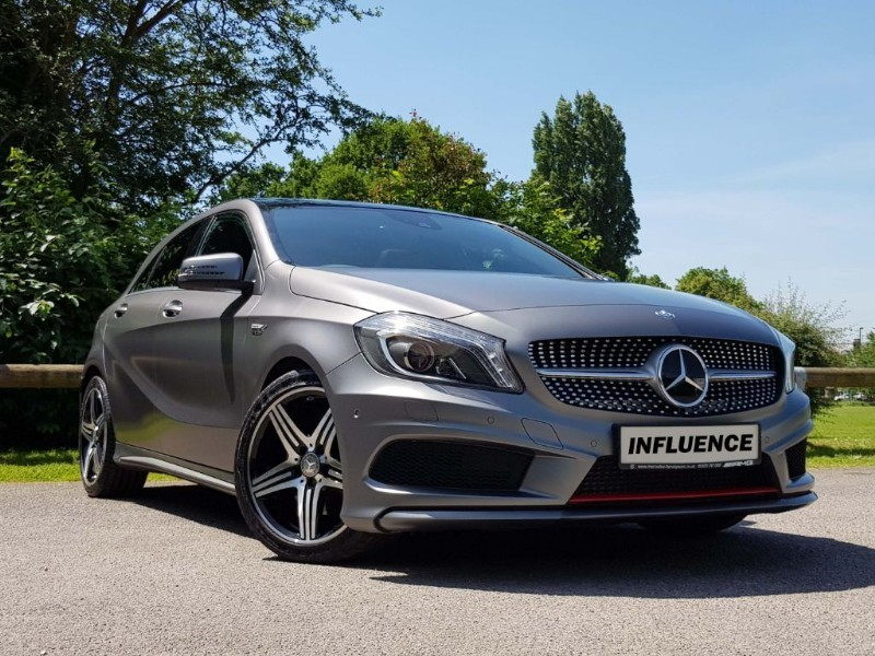used Mercedes A250 4MATIC ENGINEERED BY AMG in leatherhead-surrey