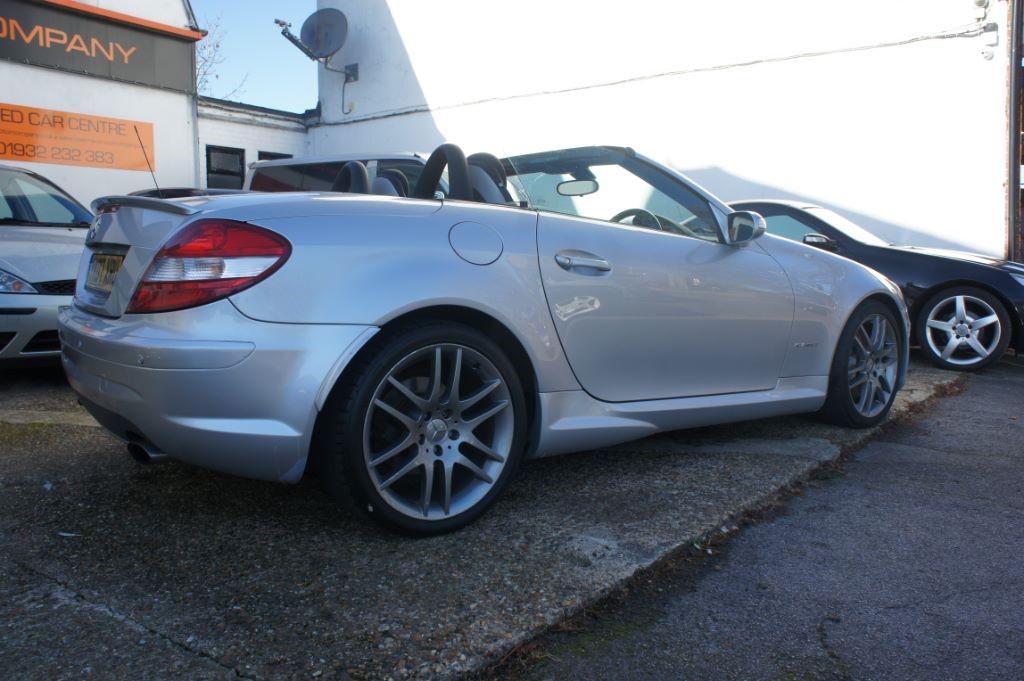 Used Silver Mercedes Slk200 For Sale Surrey