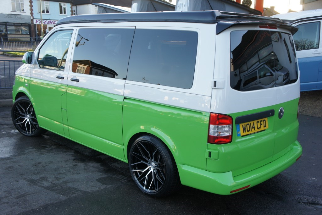 Used Lime Green VW Camper For Sale