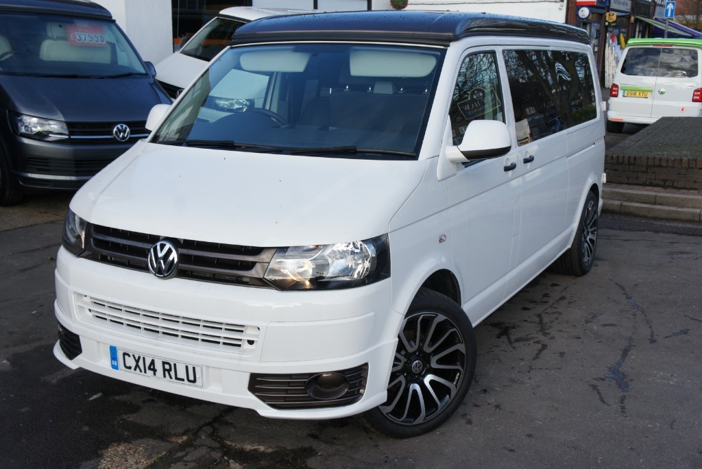 Used White VW Camper For Sale