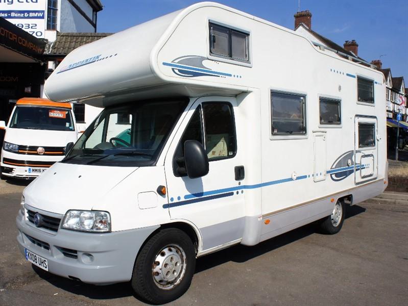 used Adria Coral ADRIA CORAL FIAT 670sk - low mileage 6/7 Berth in new-haw-surrey
