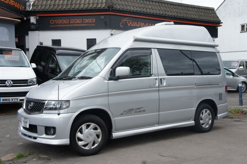 used Mazda Bongo 2.0 HIGH TOP REAR KITCHEN + AWNING in new-haw-surrey