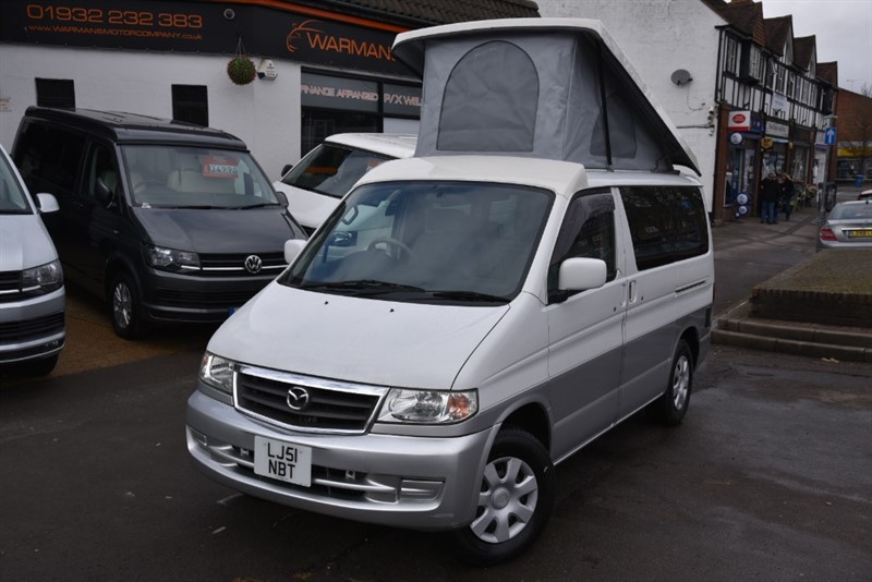 used Mazda Bongo 2 BERTH CAMPER FULL CONVERSION OUTSTANDING in new-haw-surrey