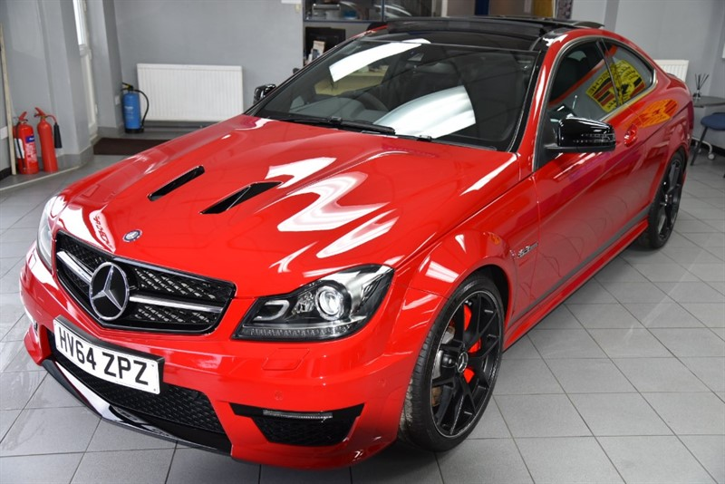 used Mercedes C63 507 LIMITED EDITION AMG - METICULOUSLY MAINTAINED in new-haw-surrey