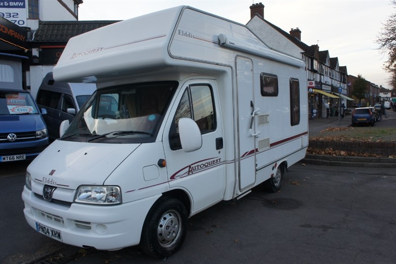 used Elddis Autoquest 400RL 4 BERTH MOTORHOME HDI  MWB in new-haw-surrey