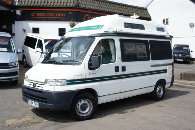 used Peugeot Boxer AUTO SLEEPER SYMBOL 2 BERTH 270 MWB P/V 2.0 in new-haw-surrey