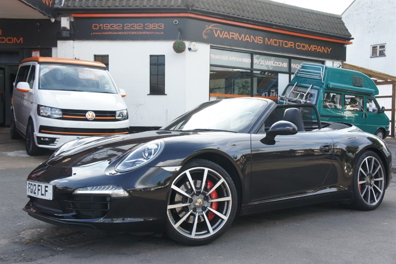 used Porsche 911 CARRERA S PDK in new-haw-surrey