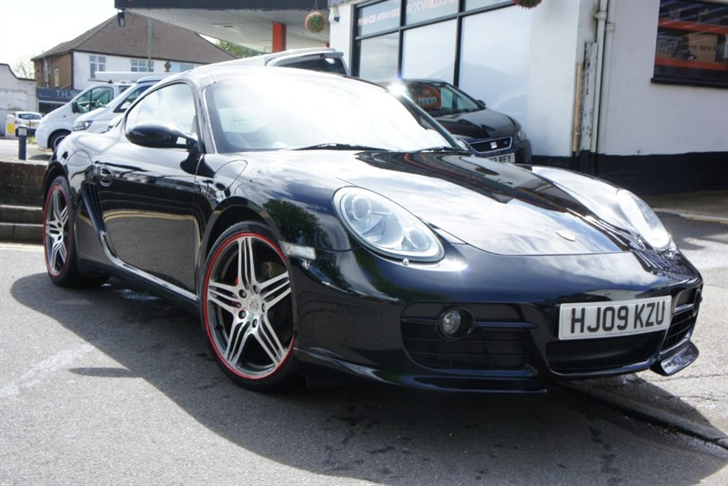 used Porsche Cayman S SPORT BLACK EDITION LIMITED in new-haw-surrey