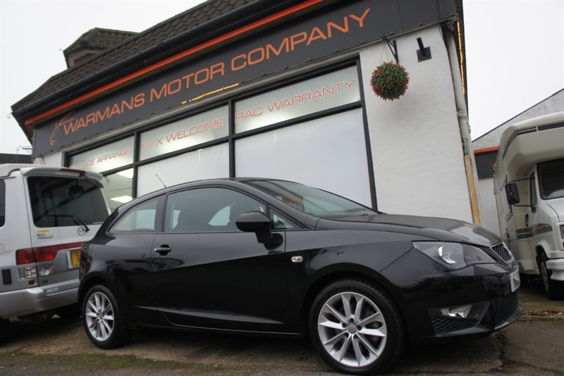 used SEAT Ibiza TDI CR FR - £30 ROAD TAX - FSH in new-haw-surrey