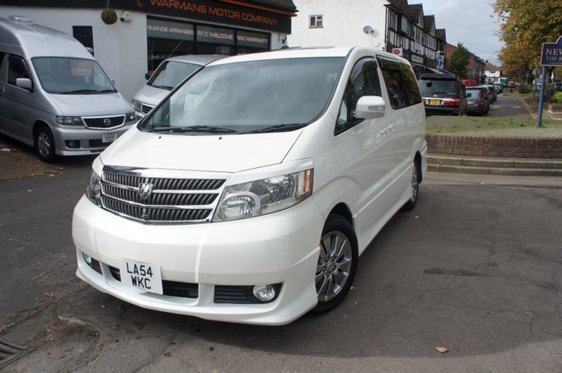used Toyota Alphard TOYOTA ALPHARD 3.0 AUTO AIRCON 8 SEATER in new-haw-surrey