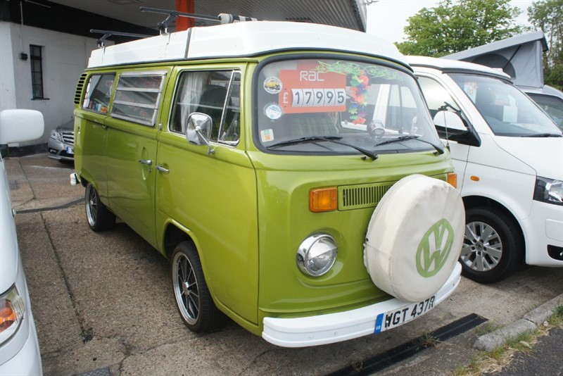 used VW Camper Type 2 4 Berth Classic Camper in new-haw-surrey