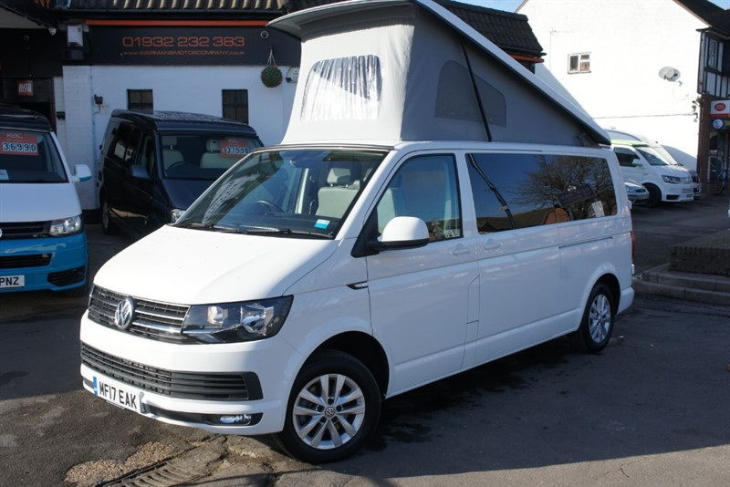 used VW Transporter T6 T30 TDI HIGHLINE VW NEW CONVERSION in new-haw-surrey