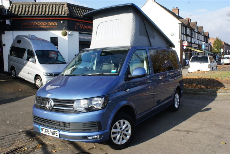 used VW Transporter T6 4 Berth T28 Campervan Rock n Roll Bed in new-haw-surrey