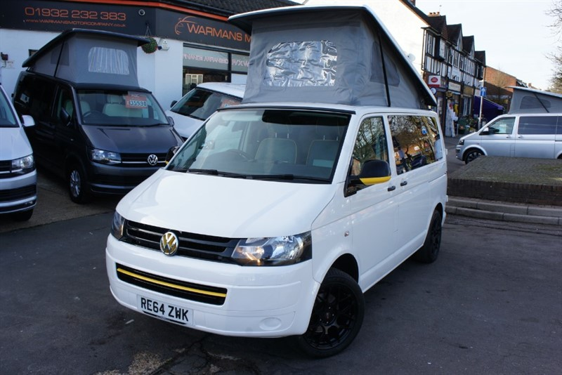 used VW Transporter T28 TDI 4 BERTH NEW CONVERSION CAMPERVAN in new-haw-surrey