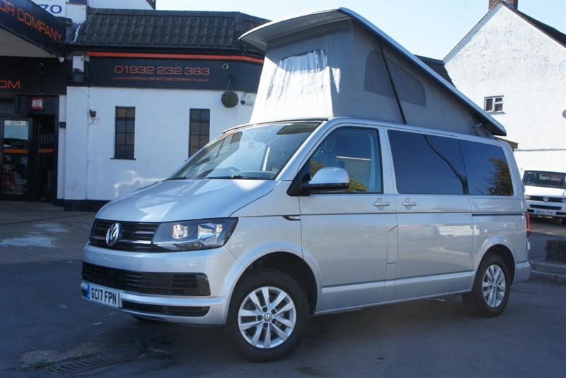 used VW Transporter VW T6 CAMPERVAN NEW CAMPER CONVERSION MASSIVE SPEC LOW MIELS T5 MODELS IN STOCK in new-haw-surrey