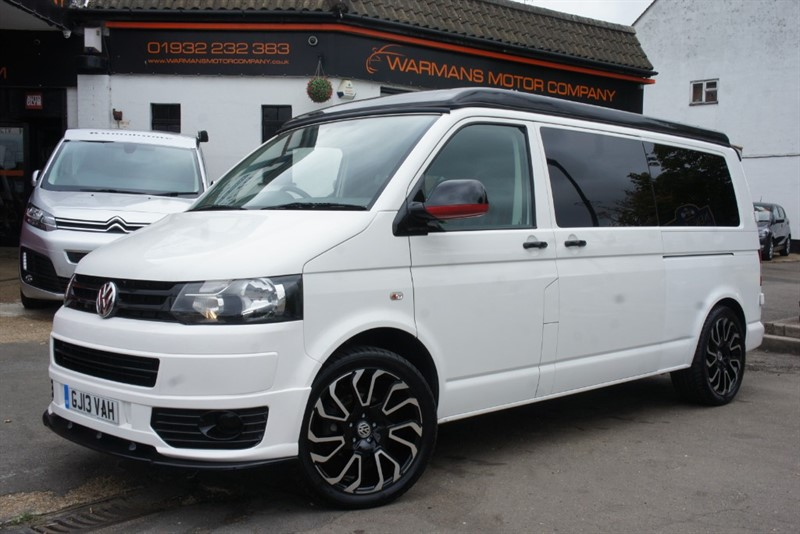 used VW Transporter T30 TDI 4 BERTH + CAMPERVAN + POP TOP+ SIDE CONVERSION + NEWLY CONVETED CAMPER T5 T6 MODELS IN STOCK in new-haw-surrey