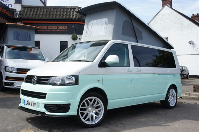 used VW Transporter T30 TDI STARTLINE POP TOP CAMPERVAN in new-haw-surrey