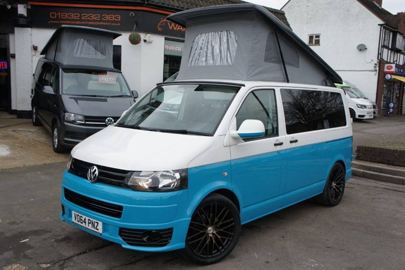 used VW Transporter VW T5 T28 TDI 4 B JUST 27K in new-haw-surrey