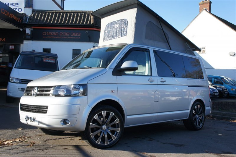 used VW Transporter T28 TDI HIGHLINE Campervan Motorhome 4 Berth Immaculate in new-haw-surrey