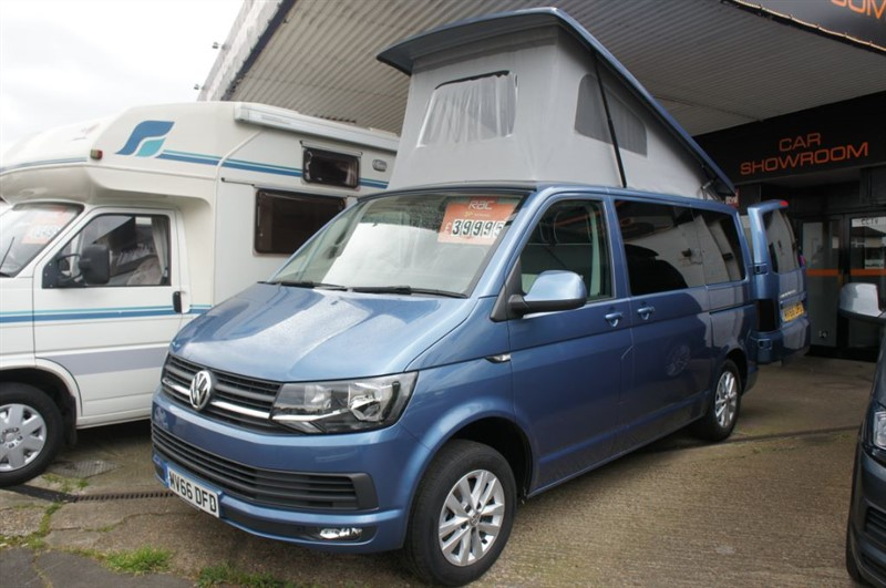 used VW Transporter T28 TDI HIGHLINE Campervan Motorhome 4 Berth Immaculate new conversion in new-haw-surrey