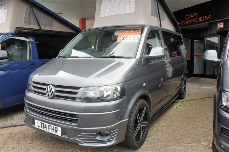 used VW Transporter T28 TDI P/V STARTLINE 4 BERTH CAMPER NEW CONVERSION in new-haw-surrey