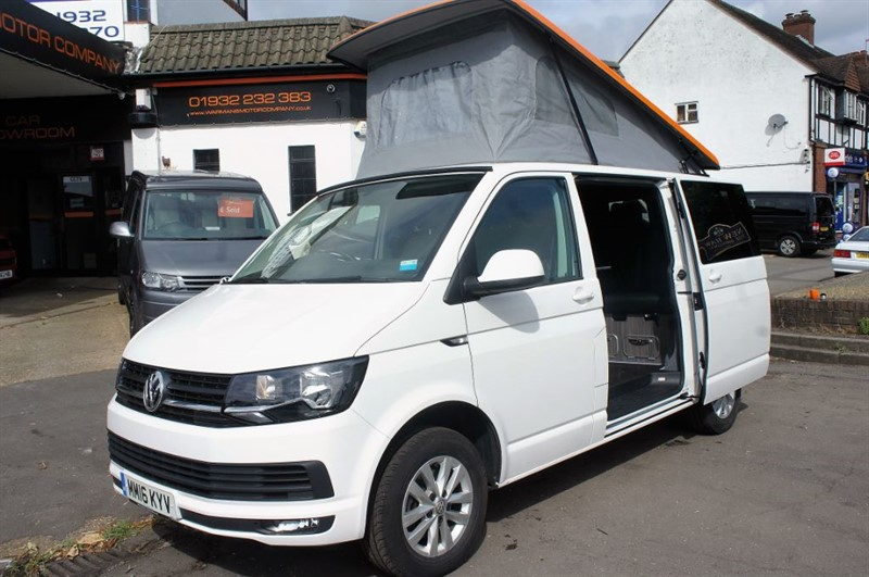 used VW Transporter T28 4 BERTH CAMPERVAN NEW CONVERSION  in new-haw-surrey